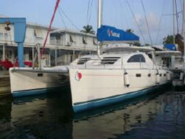 Preowned Sail Catamarans for Sale 2007 Leopard 43